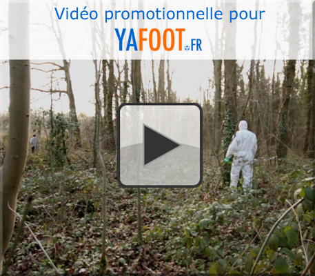 """""""Le chanceux"""" vidéo promotionnelle YAFOOT.FR"""